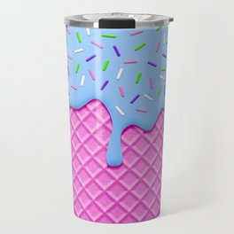 Psychedelic Ice Cream Travel Mug