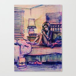 Ambivalent Unrequited Love Canvas Print