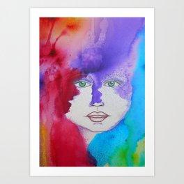 Bella SASS Girlz - Zena - SASS = STRONG and SUPER SMART Art Print
