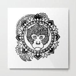 ANIMANDALA HAATHEE Metal Print