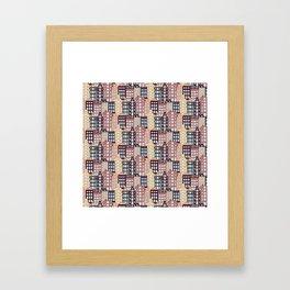 City patter Framed Art Print
