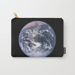Nasa Picture 4: The earth from the space or the blue marble. Carry-All Pouch
