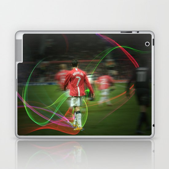 Ronaldo Remix Laptop & iPad Skin