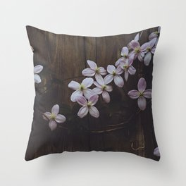Bloomin Throw Pillow