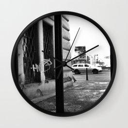 Station Window Wall Clock