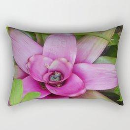 Purple Plant Rectangular Pillow