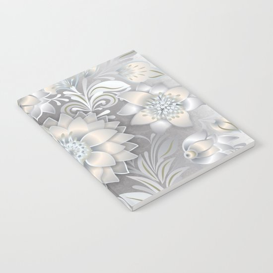 Shabby flowers #2 Notebook