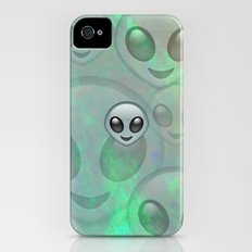 Opal Alien Emoji Slim Case iPhone (4, 4s)