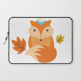 Little Fox Happy Autunm - Fall Begins Laptop Sleeve