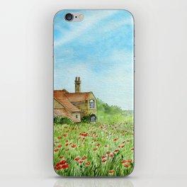 Poppy Field iPhone Skin
