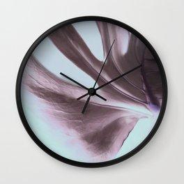 Cheeseplant Leaf Portrait Wall Clock