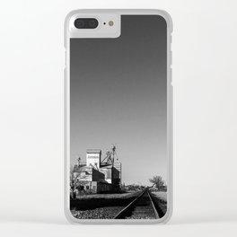 Marfa Silo Clear iPhone Case