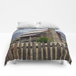 Appalachian Mountain Cabin Comforters