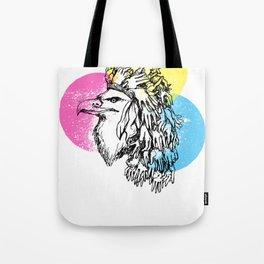 Handful Eagle Tote Bag