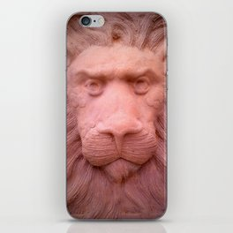 Lion clay iPhone Skin