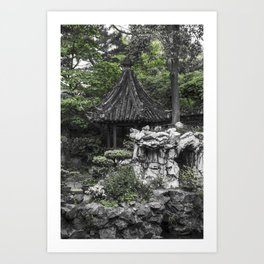 Colorless Shanghai1 Art Print