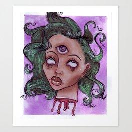 Decapitated I Art Print