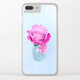 Simple Love Clear iPhone Case