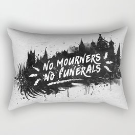 No Mourners No Funerals Rectangular Pillow
