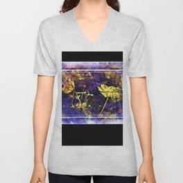 Flowery Explorations Unisex V-Neck