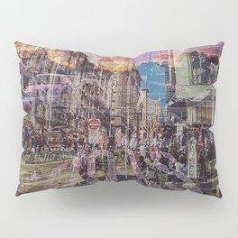San Francisco city illusion Pillow Sham