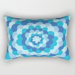 Bloom pattern Rectangular Pillow