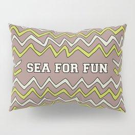Sea for fun (brown) Pillow Sham