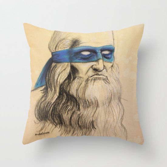 Leo TMNT Throw Pillow