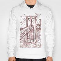 bridge Hoodies featuring Bridge by Howard Coale