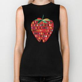 Strawberry Biker Tank