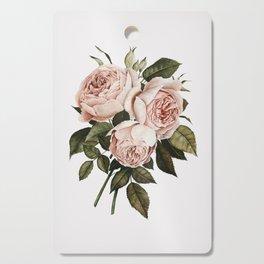 Three English Roses Cutting Board