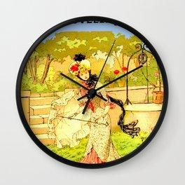 Monde rural et mode ... Wall Clock