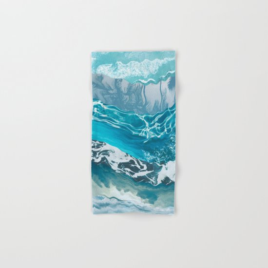 Sea abstract Hand & Bath Towel