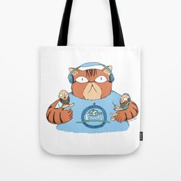 Angus the cat Tote Bag