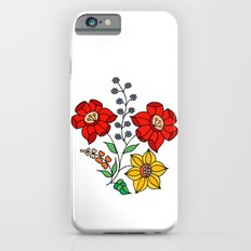 Hungarian placement print - white iPhone 6s Slim Case