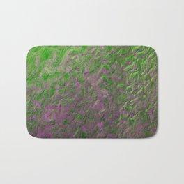 Green Purple Sand Bath Mat