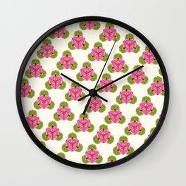 Liriodendron diagonal Wall Clock