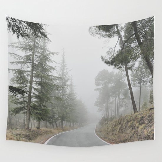 """""""Into the woods"""" Come in..... Wall Tapestry"""