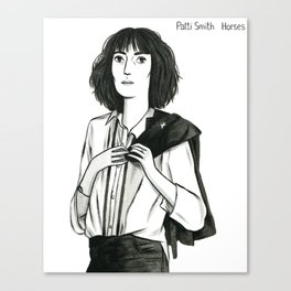 Patti Smith Canvas Print