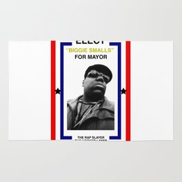 Biggie Smalls for Mayor Rug