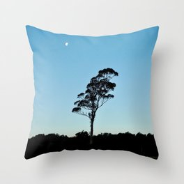 Not that Wanaka Tree, but Lone Tree from Te Anau Throw Pillow