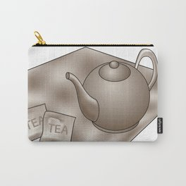 Vintage Tea time Carry-All Pouch