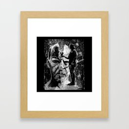 The ceremony - black Framed Art Print