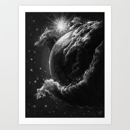 Spaceborne Art Print