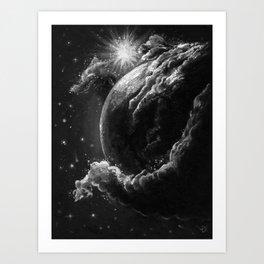 Spaceborne Art Print