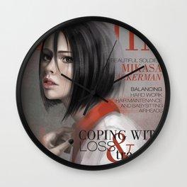 SnK Magazine: Mik Wall Clock