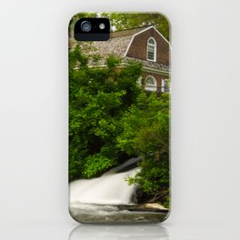 Brandywine River and First Presbyterian Church Rural Landscape Photo iPhone Case