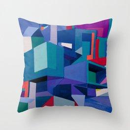 Tilt Shift Throw Pillow