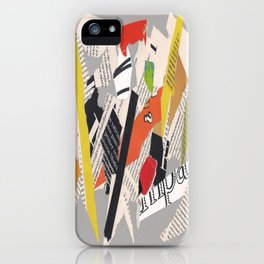 Multicolor collage ign iPhone Case