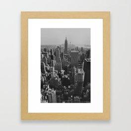 New York City Print Framed Art Print